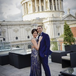 Pinar & Joel Wedding Photography at the Roof Top Gardens